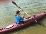 Пластиковая лодка BlueWave Moken, бу